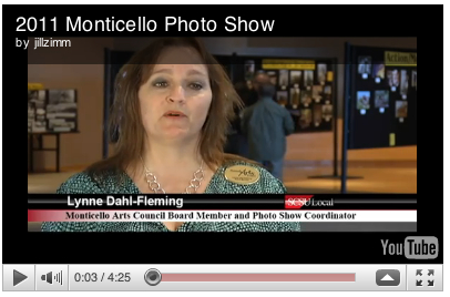 youtube video 2011 Monticello Photo show